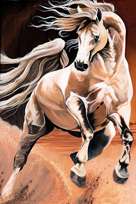 Painting - Dream Horse Series 16 by Cheryl Poland