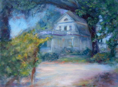 Painting - Dream House - Original Impressionist Painting by Quin Sweetman