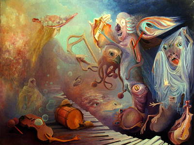 Painting - Dream Immersion by Mikhail Savchenko
