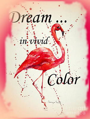 Painting - Dream In Vivid Color by Tamyra Crossley