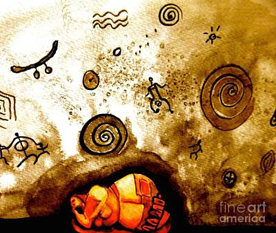 Wall Art - Painting - Dream Into Being by Jakki Moore