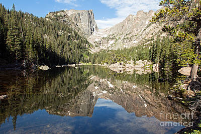 Photograph - Dream Lake In Rocky Mountain National Park by Fred Stearns