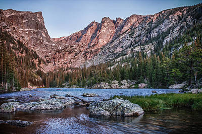 Photograph - Dream Lake by James Woody
