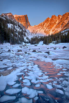 Dream Lake - Rocky Mountain National Park Art Print