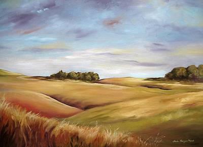 Wall Art - Painting - Dream Land by Paula Marsh
