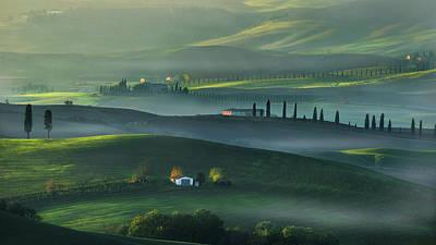 Green Houses Photograph - Dream Land by Petar Sabol