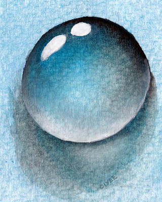 Painting - Dream Of A Water Droplet by Oiyee At Oystudio