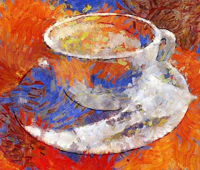 Progress Digital Art - Dream Of Cofee by Yury Malkov