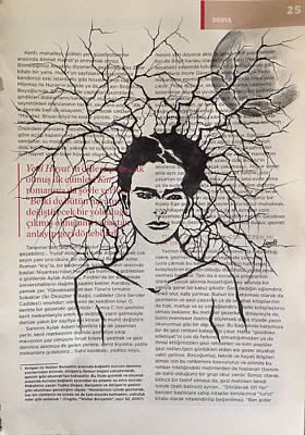Frida Drawing - Dream Of Frida Kahlo by Leyla Ozluoglu