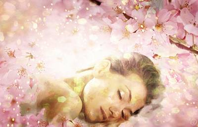 Sweet Dreams Digital Art - Dream Of Spring by Gun Legler