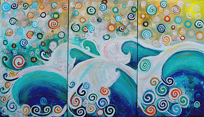 Painting - Dream Of The Ocean by Shirley Smith