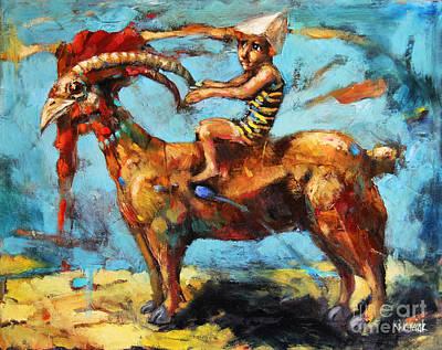Dream Rider Art Print by Michal Kwarciak