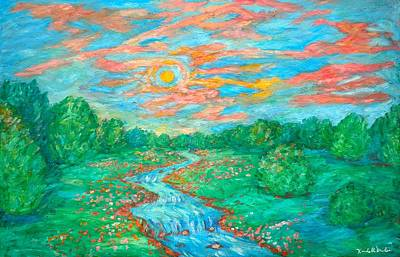 Painting - Dream River by Kendall Kessler