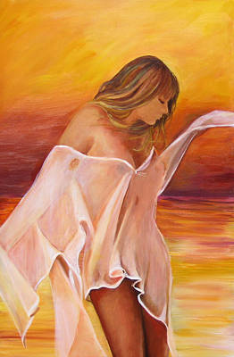 Art Print featuring the painting Dream by Sheri  Chakamian