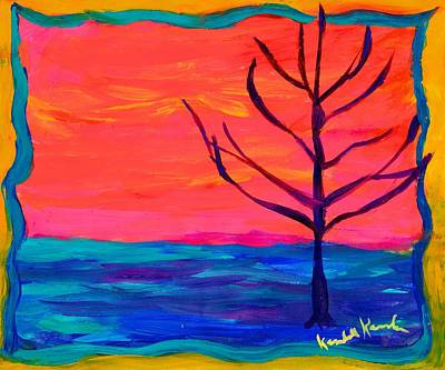 Painting - Dream Tree by Kendall Kessler