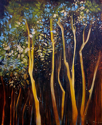 Orlando Painting - Dream Tree by Sharlena Wood