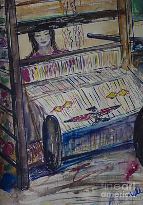 Jukebox Painting - Dream Weaver #2 by Avonelle Kelsey
