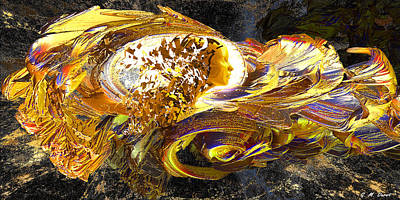 Colorful Abstract Digital Art - Dream Weaver by Michael Durst