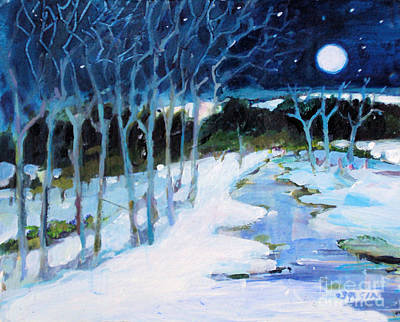 Painting - Dream Winter by Diane Ursin