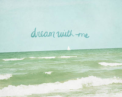 Dream With Me Art Print by Lisa Barbero