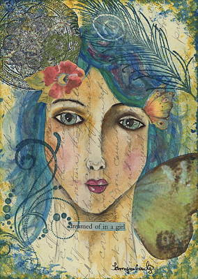 Dreamed Of In A Girl Art Print