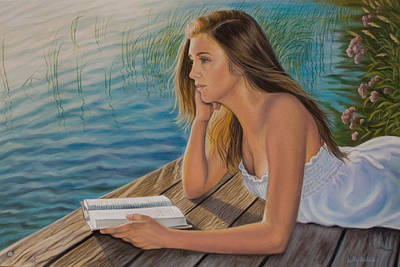 Dreamer Art Print by Holly Kallie