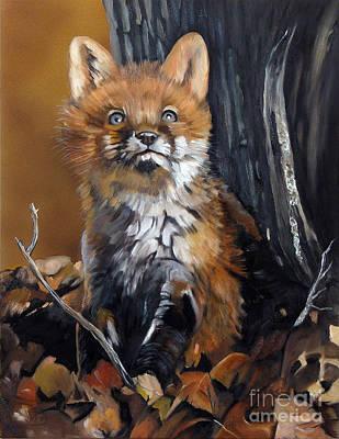 Painting - Dreamer by J W Baker