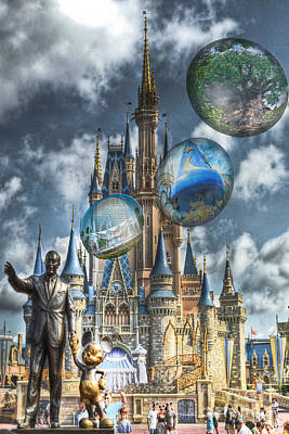 Disney Photograph - Dreamer Of Dreams by Ryan Crane