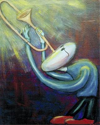 Painting - Dreamers 99-005 by Mario MJ Perron