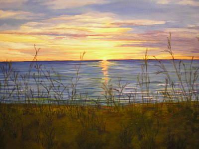 Dreamers Sunrise Art Print by Cheryl Damschen