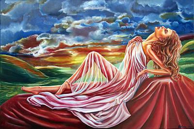 Painting - Dreamgirl  by Yelena Rubin