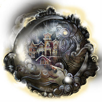 Painting - Dreamhouse by Lynette Yencho