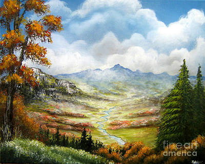 Art Print featuring the painting Dreamin On by Patrice Torrillo