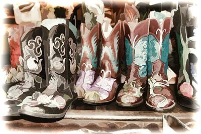 Digital Art - Dreaming About Boots by Audreen Gieger