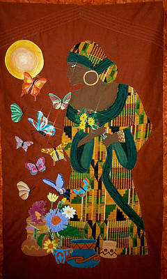 Dreaming Butterflies Art Print by Linda Egland