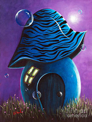 Dreams Painting - Dreaming House By Shawna Erback by Shawna Erback