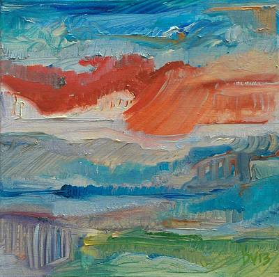Painting - Dreaming Color by Dawn Vagts