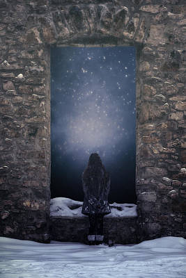 Dreaming In Snow Art Print