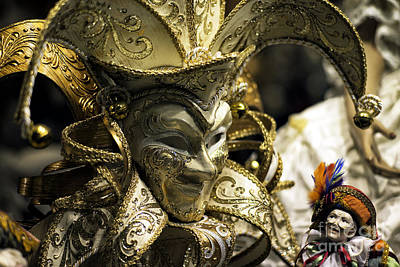Venice Photograph - Dreaming Of A Carnival Mask by John Rizzuto
