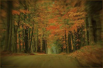 Photograph - Dreaming Of Fall  Michigan by LeeAnn McLaneGoetz McLaneGoetzStudioLLCcom