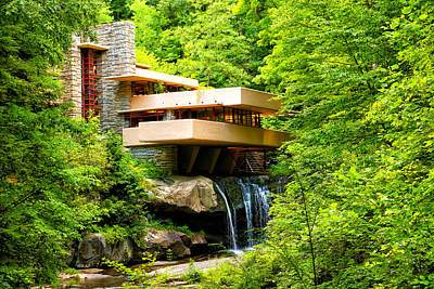 Dreaming Of Fallingwater 3 Art Print by Rachel Cohen
