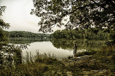 Dreaming Of Fishing At Argyle Lake Art Print by Thomas Woolworth