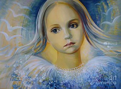 Celeste Painting - Dreaming Of Flight by Elena Oleniuc
