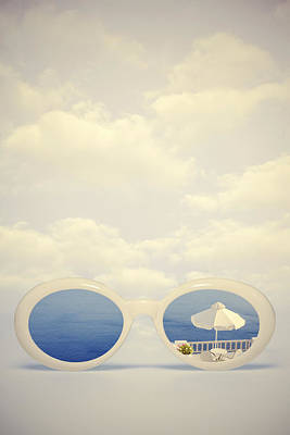 Sunglasses Photograph - Dreaming Of Holidays by Joana Kruse