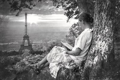 Dreaming Of Paris Art Print