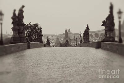 Dreaming Of Prague Art Print