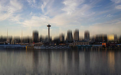 Photograph - Dreaming Of Seattle by Andrew Pacheco