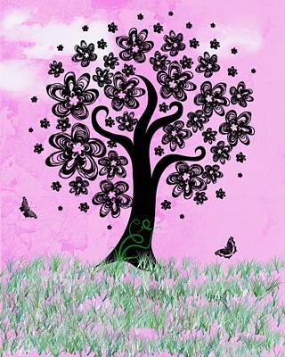 Digital Art - Dreaming Of Spring by Rhonda Barrett