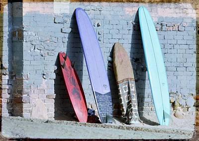 Photograph - Dreams Of Surfing 2 by Fraida Gutovich