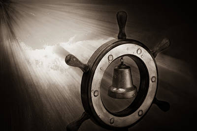 Gong Photograph - Dreaming Of The High Seas 2 by Alexander Senin